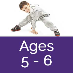 dance sessional classes ages 5-6