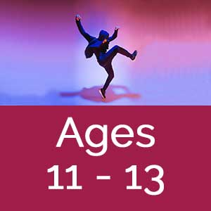 Dance Arts full year programs ages 11-13