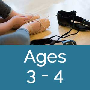 Dance Arts full year programs ages 3-4