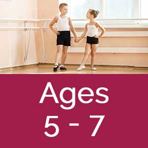Dance Arts full year programs ages 5-7