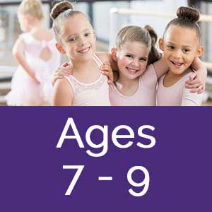 Dance Arts full year programs ages 7-9