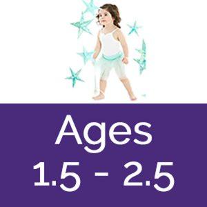 Mahogany dance classes ages 1.5 - 2