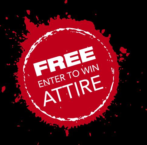 enter to win free attire