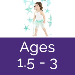 Mahogany dance classes ages 1.5 - 3